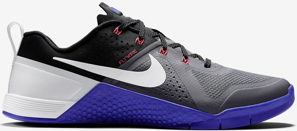 Nike Metcon 1 Cool Grey/Black-Persian Violet-White