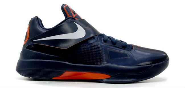Top 24 KD IV Colorways for Kevin Durant's 24th Birthday // Obsidian Team Orange