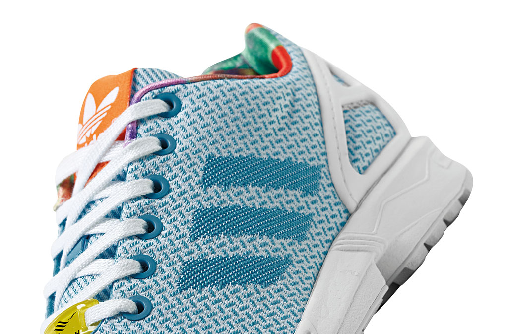 adidas ZX Flux Women's Weave Pack Blue (3)