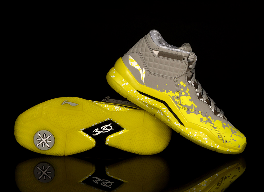 Li-Ning Way of Wade 3 Lemon Drip (3)