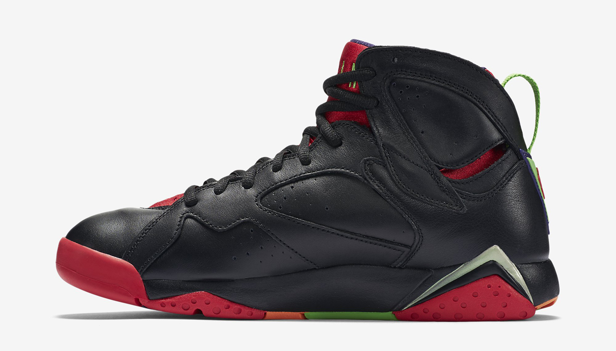 best cheap bf77d 21245 Here s Marvin the Martian s Air Jordan 7 On-Foot   Sole Collector