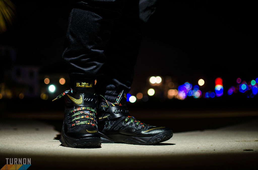 separation shoes 59aee 48a40 turnon in the  Watch the Throne  Nike Zoom Soldier 8