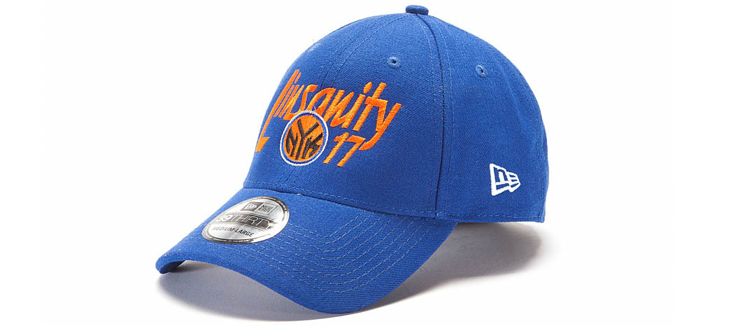 New Era Jeremy Lin Linsanity 39THIRTY Hats Caps Fitted Knicks Blue (1)