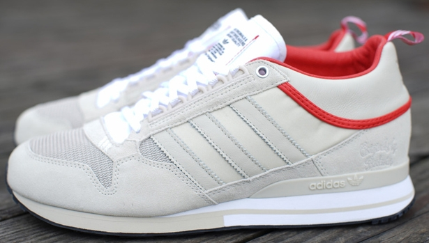 adidas BW ZX 500 Light Clay/Running White-College Red