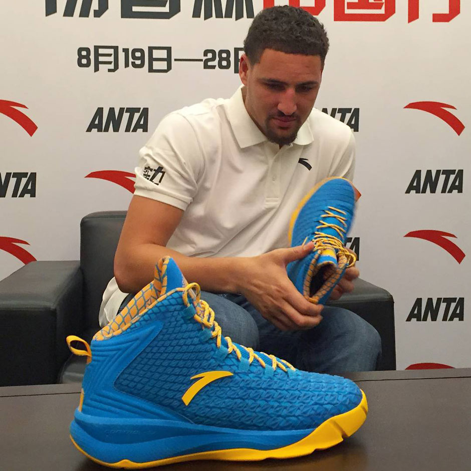 Klay Thompson Hates ANTA