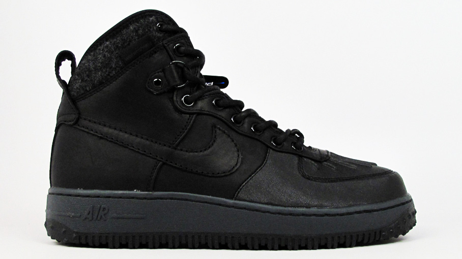 Nike Air Force 1 Duckboot Black Black Anthracite 444745 001