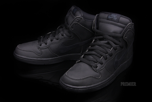 67778abe81d21d ... good nike dunk high premium sb waterproof black black fd885 d7894
