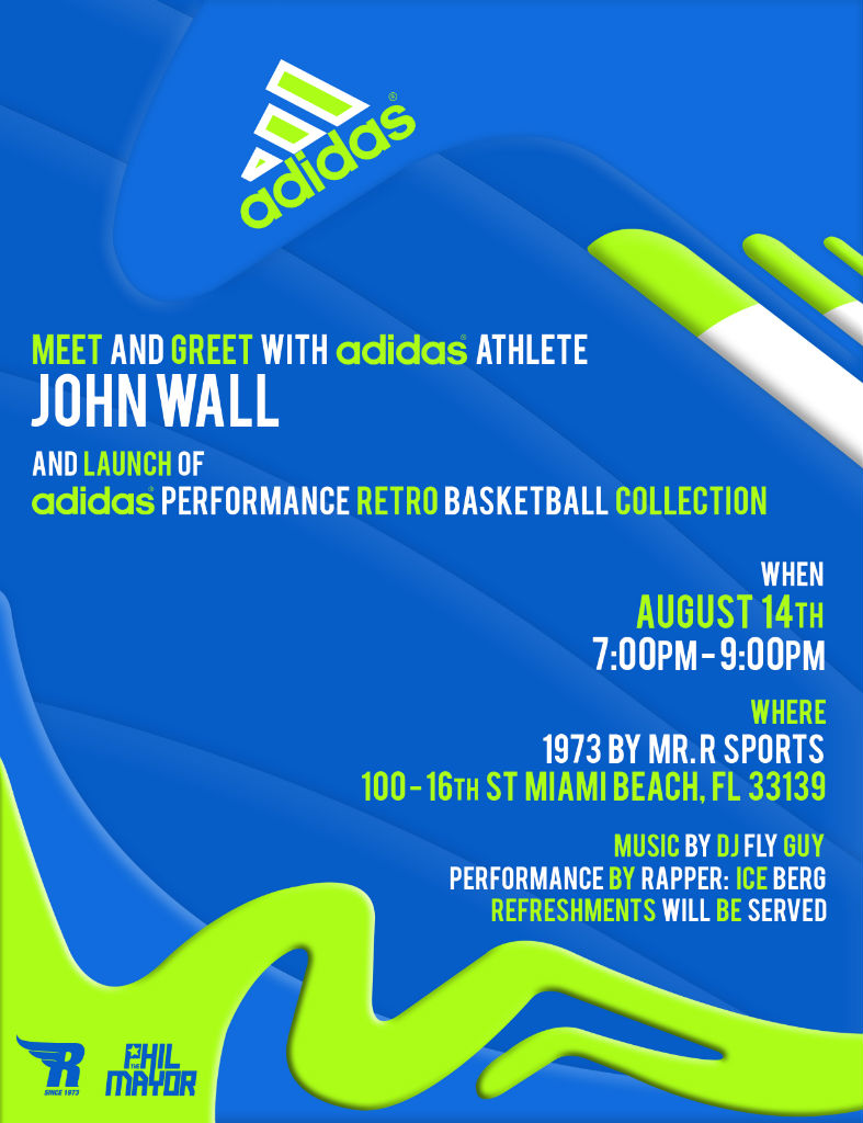 Event // Meet John Wall At 1973 by Mr. R Tomorrow
