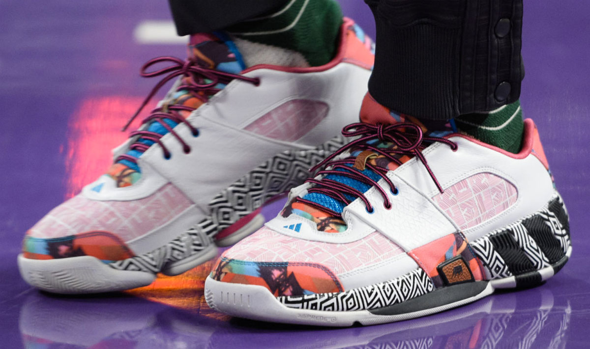 4fb44d1a9c62 SoleWatch  Nick Young Plays in One of the Rarest adidas ...