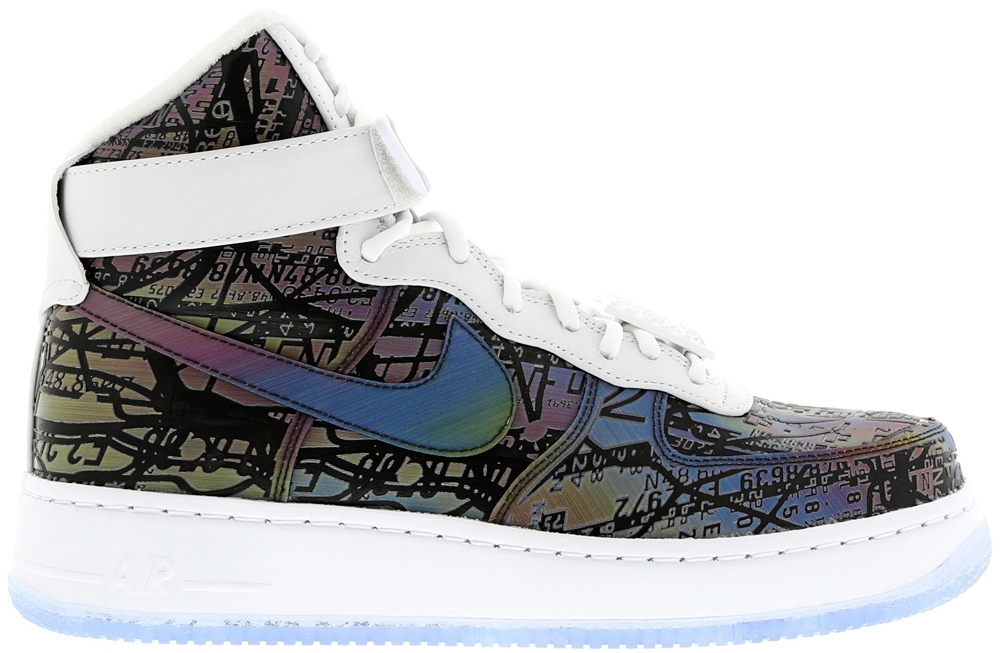 Nike Air Force 1 High CMFT LW Premium Rainbow/White-Rainbow