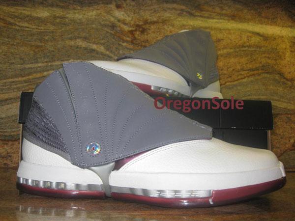 official photos bf686 a527c Air Jordan 16 Retro - Cherrywood - Scrapped 2012 Sample