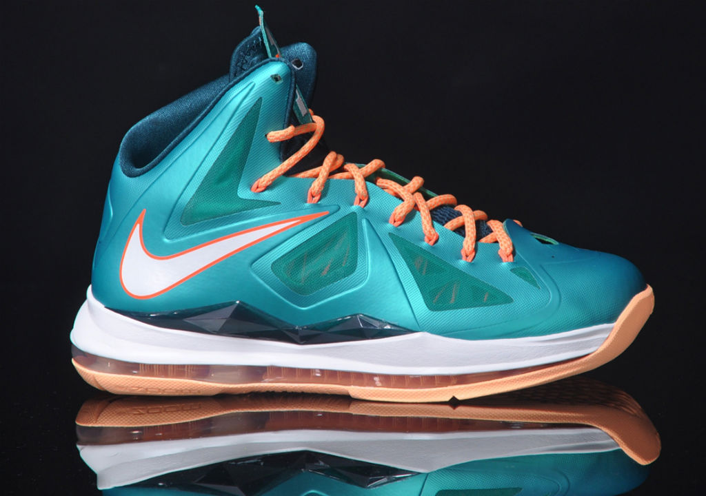 Nike LeBron X - Dolphins | Sole Collector