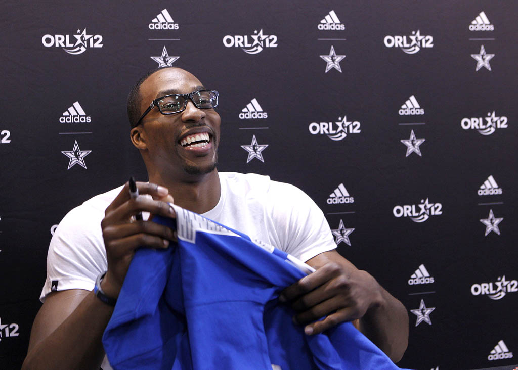 Dwight Howard's adidas All-Star Fan Appearances (6)