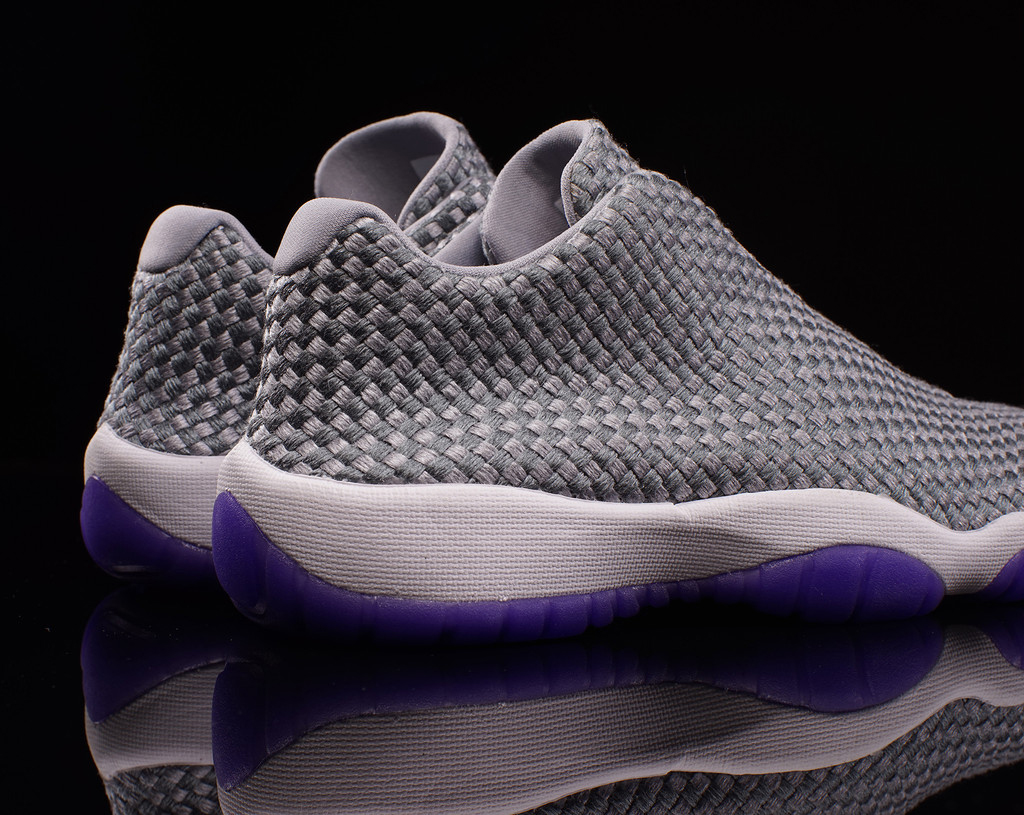 65ef6ac117b3 This Girls Jordan Future Low is available now in extended gradeschool sizes  at select Jordan Brand retailers such as Oneness.