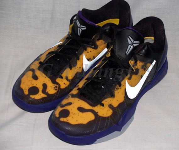 4c3fed2b2e7a Nike Zoom Kobe VII - Poison Dart Frog - Lakers Edition