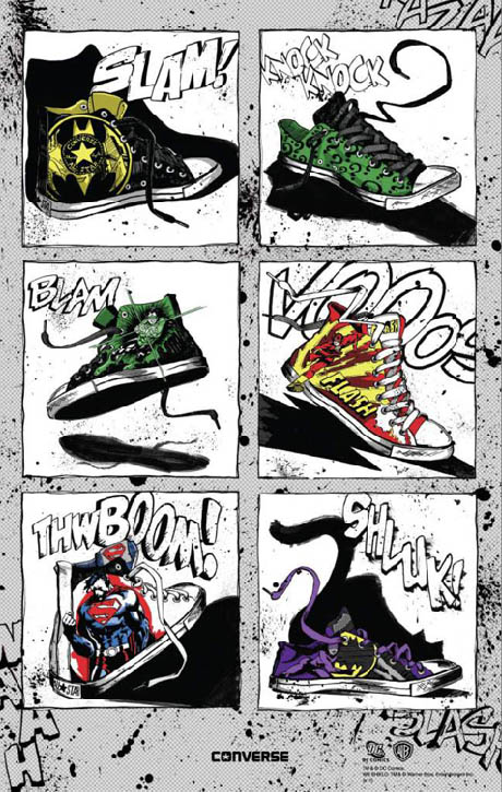 DC Comics x Converse Collection 9