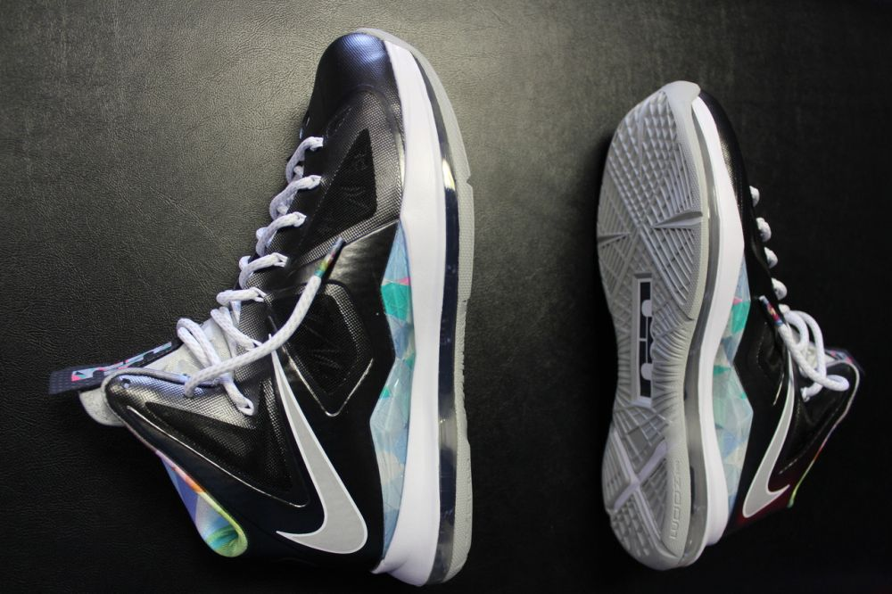 purchase cheap 0d951 3fbae Nike LeBron X - Prism - New Images