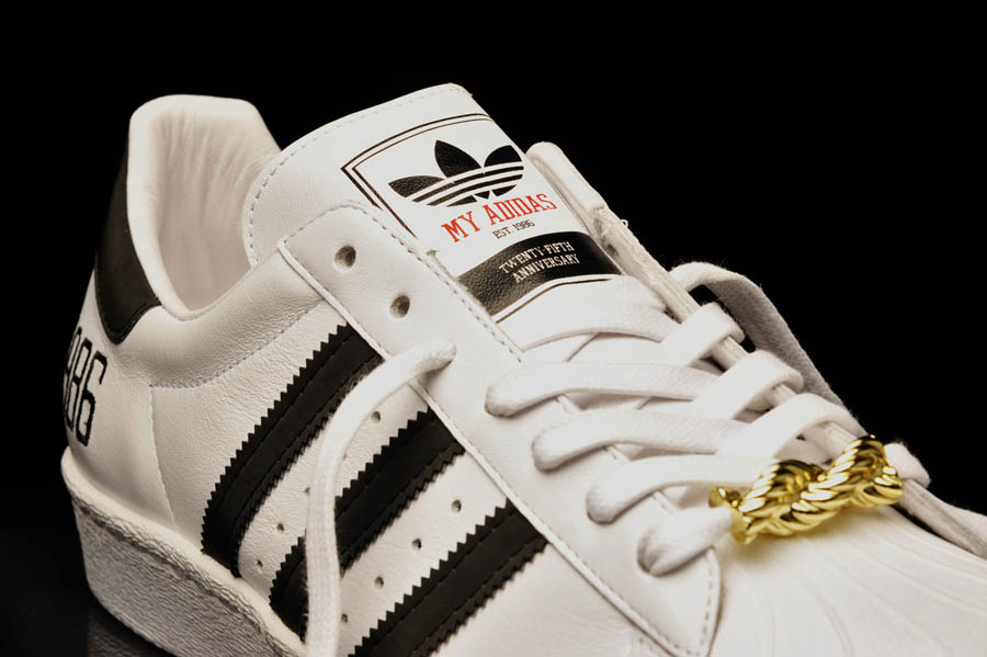 "adidas Originals Superstar 80s - Run DMC ""My adidas"" 25th Anniversary 7"