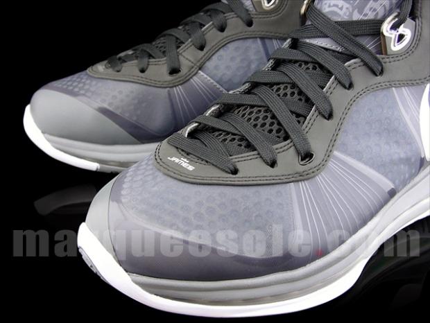 sports shoes b6450 ab78c ... Nike Air Max LeBron 8 V 2 Black Grey Neon Green ...