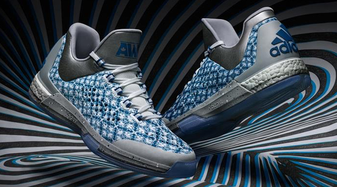 This adidas Crazy Light Boost 2015 PE for Andrew Wiggins is