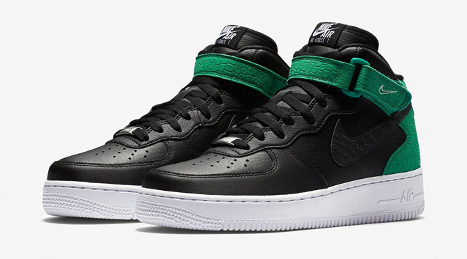 ccefc85470979a Nike Made Seasonal Air Force 1s for Women. With faux reptile ...