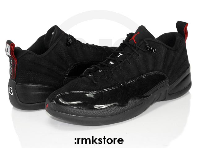 7f1e63e0efff Air Jordan Retro 12 Low - Black Patent Varsity Red - New Images ...