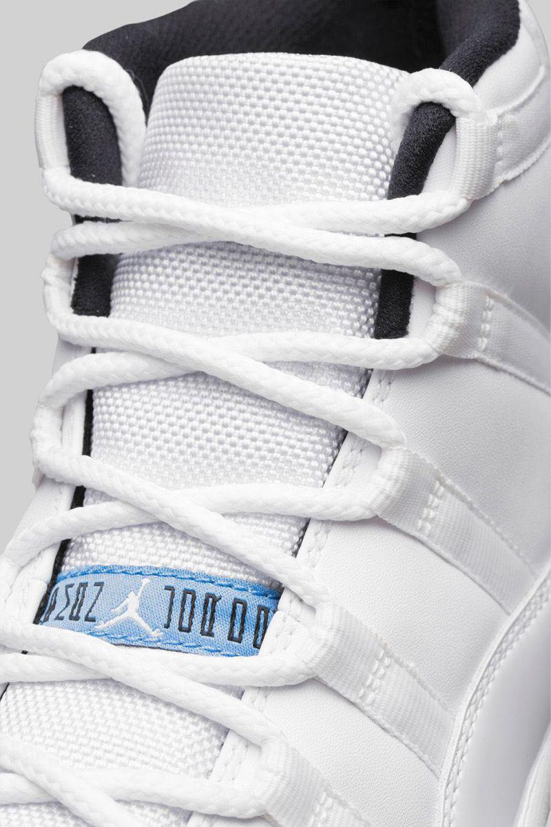 best service fbd0c b8970 Air Jordan XI 11 Legend Blue Official 378037-117 (7)