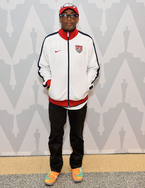 Spike Lee wearing Nike Kobe IX Elite Influence
