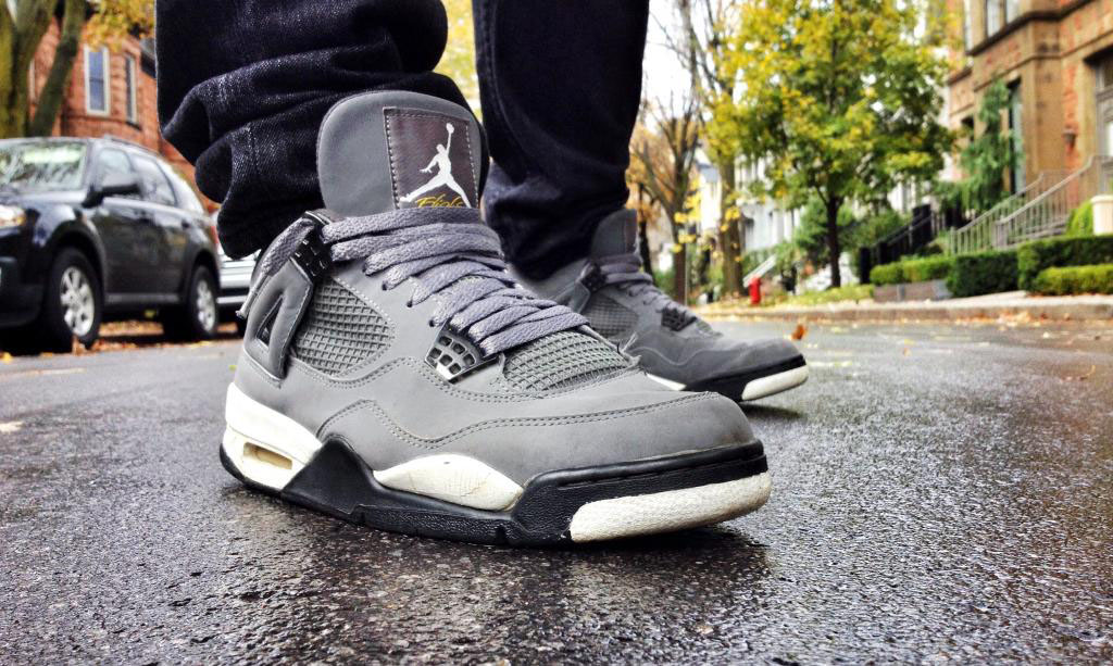 Spotlight // Forum Staff Weekly WDYWT? - 11.4.13 - Air Jordan 4 IV Retro Cool Grey by Shooter