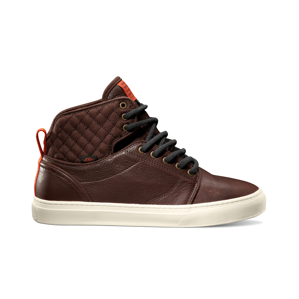 Vans OTW Alomar in Brown and Red Clay
