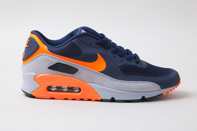 air max 90 grey orange