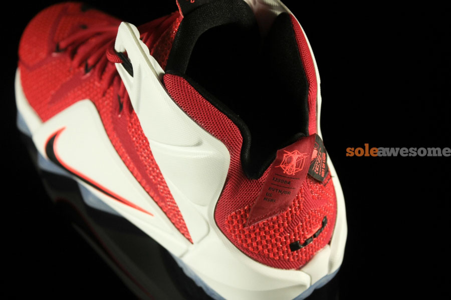 41879ce6813fdb Buy Online 2015 Nike Lebron 12 Lion Heart Red White-Crimson-Blac ...