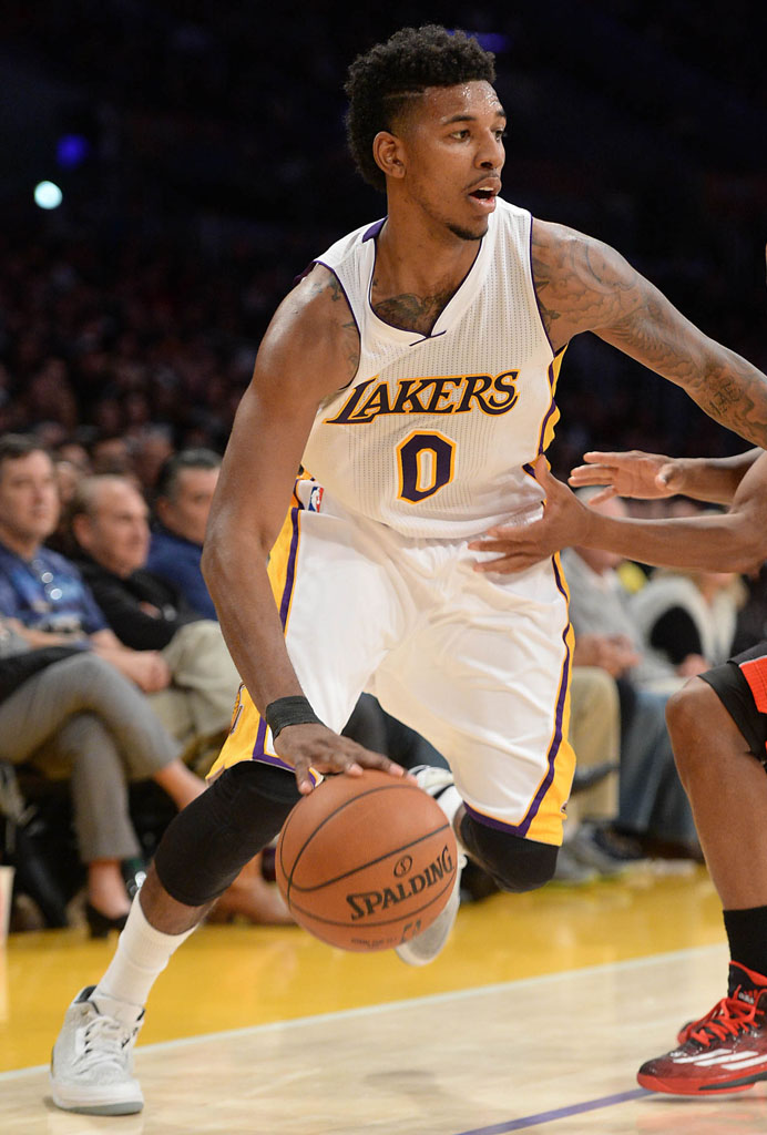 100% high quality catch many styles SoleWatch: Nick Young Wears 'Flip' Air Jordan 3 Retro | Sole ...