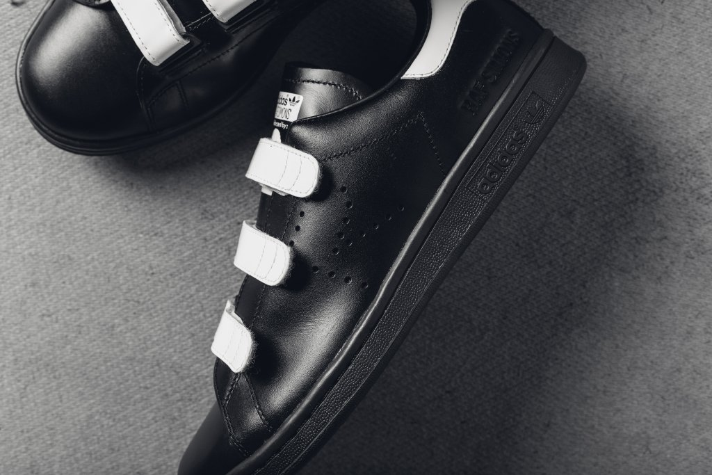 Raf Simons Adidas Stan Smith Comfort Black White Profile