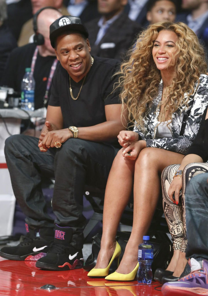Jay-Z wearing Nike Air Force 180 Mid