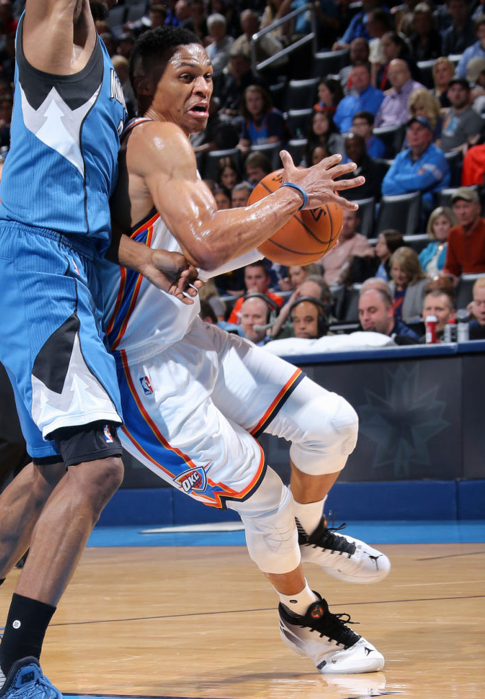 Russell Westbrook Debuts the Air Jordan XXX (7)