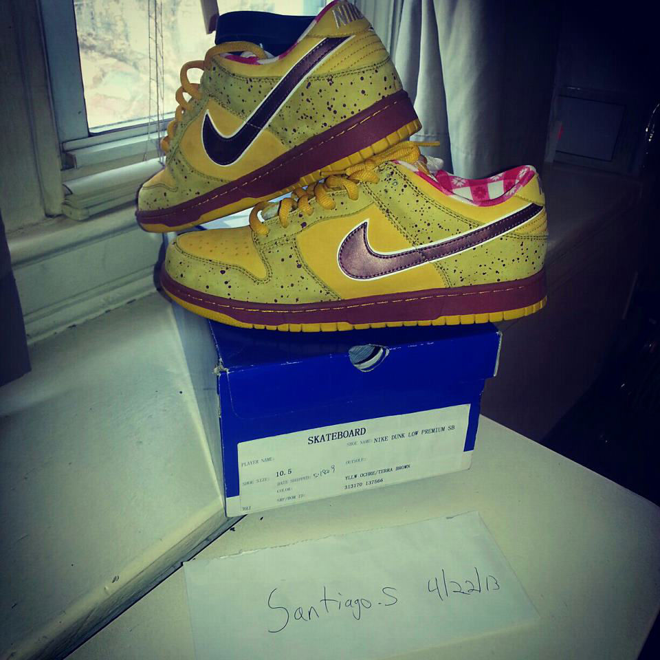 Spotlight // Pickups of the Week 4.28.13 - CNCPTS x Nike SB Dunk Low Yellow Lobster by saintofnyc