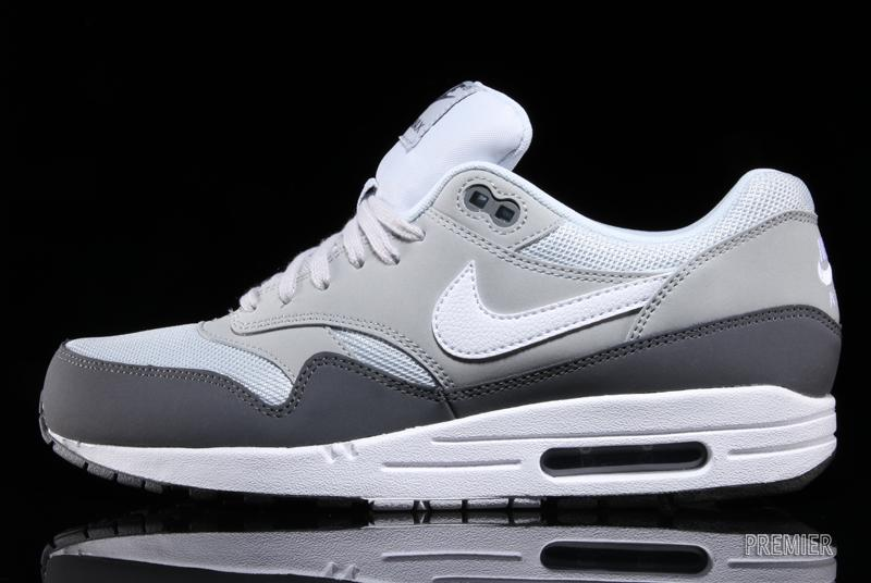ec5261fd05 Nike Air Max 1 Essential - 'Dark Grey / White - Silver - Pure Platinum'
