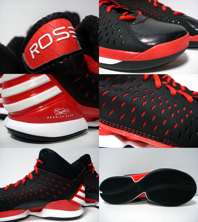 adidas Rose 773 Light Black Light Scarlet Running White G59732 (4)