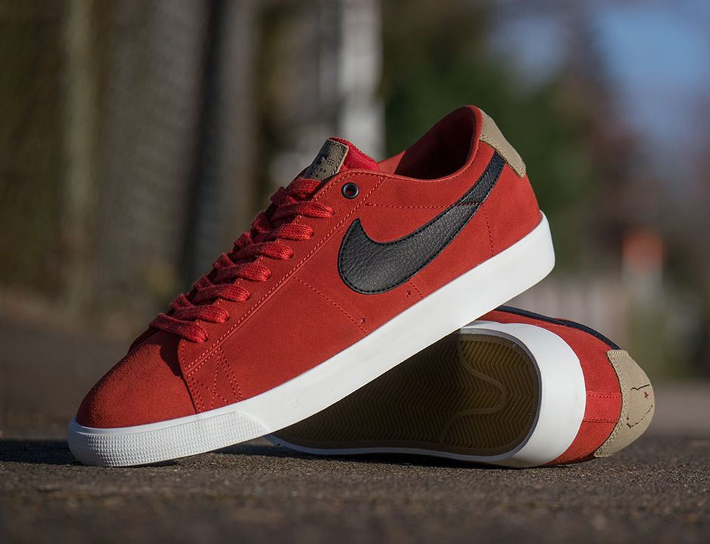 buy online 8aa55 befd2 Grant Taylor pays homage to his families skate shop with this new Nike SB  Blazer Low.