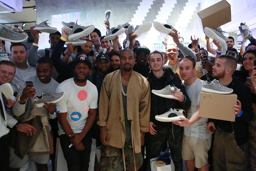 Adidas Yeezy London Release