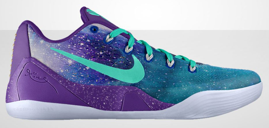 NIKEiD Kobe 9 EM 'Moonwalker' Option Available (1)