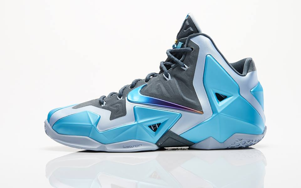 new style 5198e 9a392 Nike LeBron XI - Gamma Blue // Official Look | Sole Collector