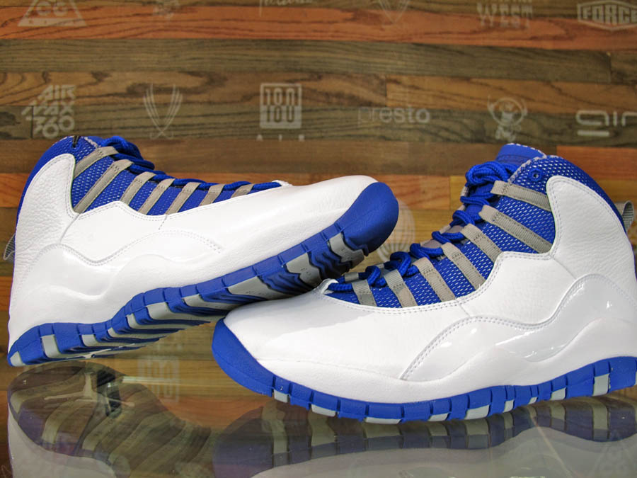 size 40 ce9cd dbaa0 ... get air jordan 10 x white old royal stealth shoes new 487214 107 2 air  jordan