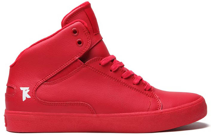 SUPRA Action Pack Society Mid Shoes Red (3)