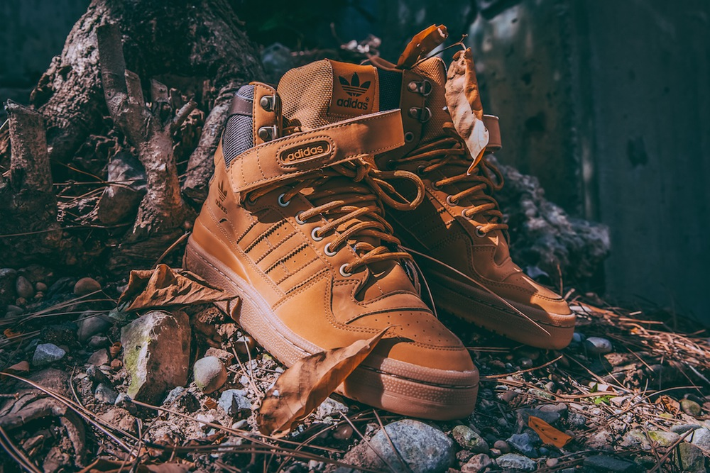 adidas Originals Forum Hi OG Timberland Wheat (1)