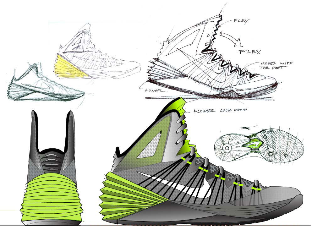 Introducing the Nike Hyperdunk 2013 Sketch