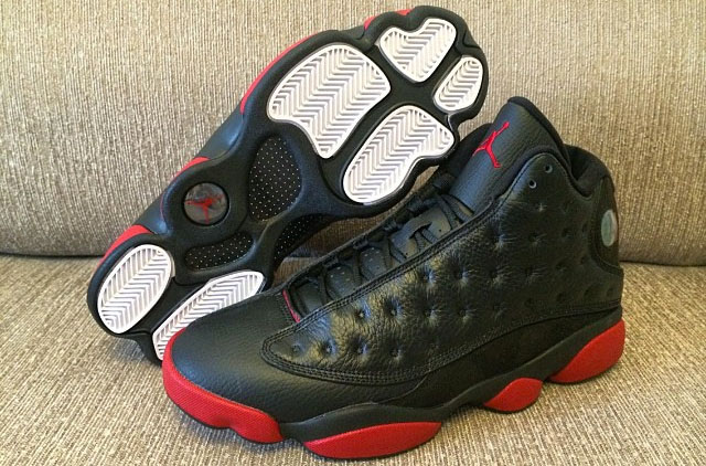 air jordan 13 red and black