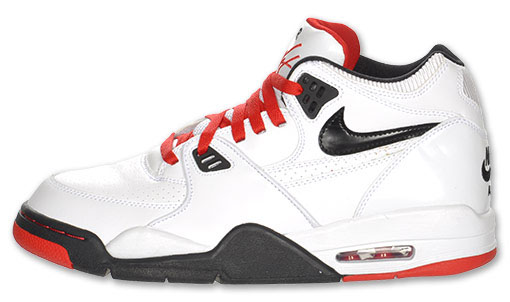 fc707e755338 Nike Air Flight 89 White Black Sport Red 306252-107 (1)