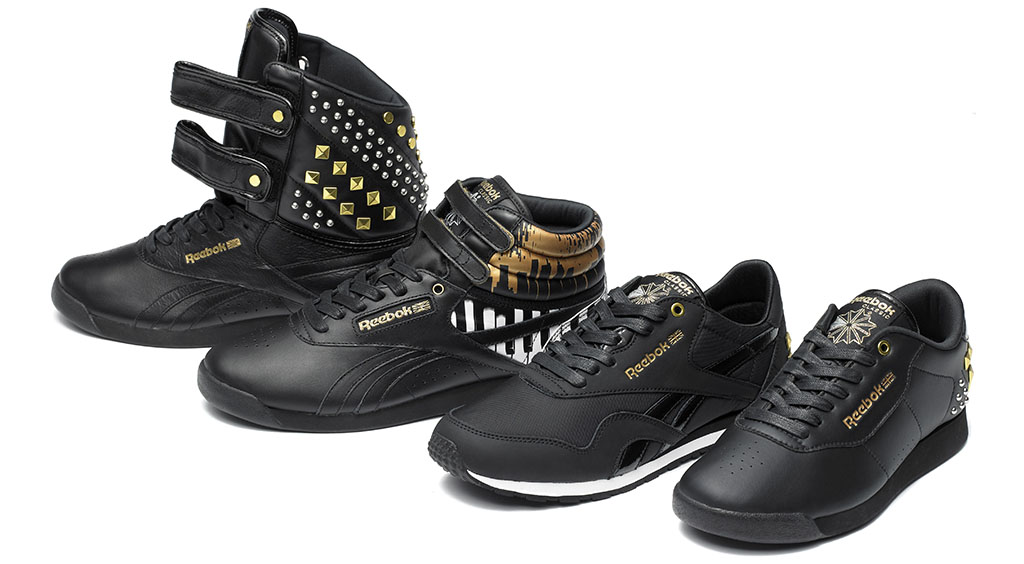Alicia Keys x Reebok Classics Studs Group (2)